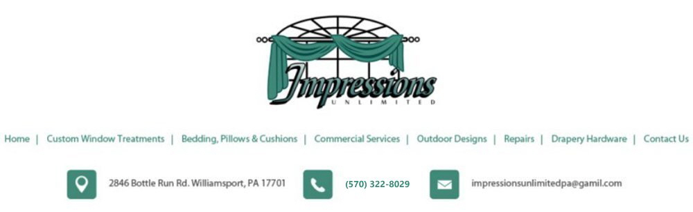 williamsport window treatments impressions unlmited logo